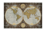 World Map Giclee Print by Elizabeth Medley