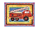 Fire Engine Wydruk giclee premium autor Alison Jerry