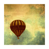 Air Balloon Ride Premium Giclee Print by Gail Peck
