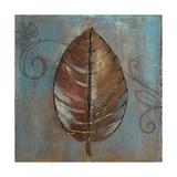 New Leaf V (Blue) Giclee Print by Patricia Pinto