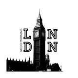 Good Morning London Premium Giclee Print by Emily Navas