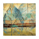 Rain Leaves I Premium Giclee Print by Patricia Quintero-Pinto