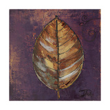 New Leaves I (Purple) Giclee Print by Patricia Pinto