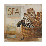 Jungle Spa I Premium Giclee Print by  Hakimipour-ritter