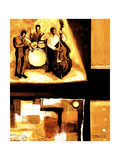 Musical Trio I Giclee Print by Everett Spruill