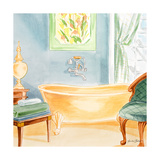 Day at the Spa II Giclee Print by Linda Baliko