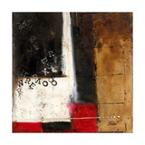 Red Contemporary IV Giclee Print by Patricia Pinto