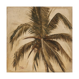 Sepia Palm III Poster by Patricia Pinto