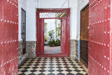 Spain, Andalusia, Malaga Province, Marbella. Entrance to an Old House Photographic Print by Matteo Colombo