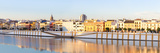 Spain, Andalusia, Seville. Triana District at Sunrise with Guadalquivir River Photographic Print by Matteo Colombo