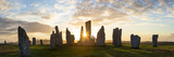 Sunset, Callanish Standing Stones, Isle of Lewis, Outer Hebrides, Scotland Photographic Print by Peter Adams
