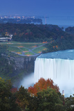Canada and USA, Ontario and New York State, Niagara, Niagara Falls, View of Horseshoe Falls Photographic Print by Jane Sweeney