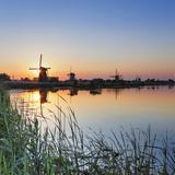 Netherlands, South Holland, Kinderdijk. Windmills Photographic Print by Francesco Iacobelli