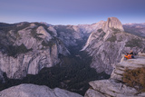 Half Dome and Yosemite Valley from Glacier Point, Yosemite National Park, California Photographic Print by Adam Burton