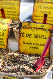 Spain, Andalusia, Seville. Tea Leaves for Sale at Local Market Photographic Print by Matteo Colombo