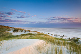 Dunes at Dusk, Amrum Island, Northern Frisia, Schleswig-Holstein, Germany Photographic Print by Sabine Lubenow