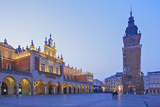 Town Hall Tower and Cloth Hall, Market Square, Krakow, Poland, Europe Photographic Print by Neil Farrin