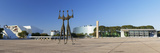 Three Powers Square, Brasilia, Federal District, Brazil Photographic Print by Ian Trower