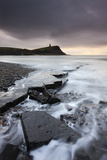 High Tide around the Broken Ledges on Kimmeridge Bay Shores, on the Jurassic Coast, Dorset, England Photographic Print by Adam Burton