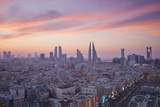 Bahrain, Manama, View of City Skyline Fotografiskt tryck av Jane Sweeney
