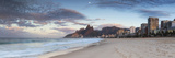 Ipanema Beach at Dawn, Rio De Janeiro, Brazil Photographic Print by Ian Trower