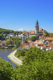 Czech Republic, Southern Bohemia, Cesky Krumlov, UNESCO World Heritage Photographic Print by Karl Thomas
