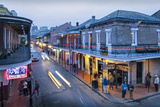 Louisiana, New Orleans, French Quarter, Bourbon Street Photographic Print by John Coletti