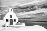 Church in Oia, Santorini (Thira), Greece Photographic Print by Nadia Isakova