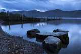 Twilight on the Shores of Derwent Water Near Ashness Jetty, Lake District, Cumbria Photographic Print by Adam Burton