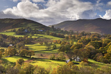 Newlands Chapel Nestled in the Beautiful Newlands Valley, Lake District, Cumbria Photographic Print by Adam Burton