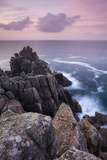 Dawn Skies Above Hella Point Near Porthgwarra, Cornwall, England. Autumn Photographic Print by Adam Burton
