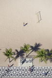 Aerial View of Ipanema Beach, Rio De Janeiro, Brazil Reproduction photographique par Ian Trower