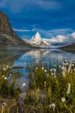 Mountain Matterhorn, Monte Cervino, Mont Cervin Photographic Print by Karl Thomas