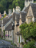 Picturesque Cottages in the Beautiful Cotswolds Village of Castle Combe, Wiltshire, England Photographic Print by Adam Burton