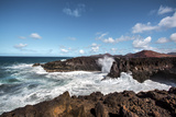Cliffs, Los Hervideros, Lanzarote, Canary Islands, Spain Photographic Print by Sabine Lubenow