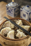 Steamed Dumplings (Steamed Bun or Xiaolongbao), Qibao, Shanghai, China Photographic Print by Jon Arnold