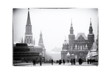 Red Square, Moscow, Russia Fotografisk tryk af Nadia Isakova