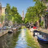 Netherlands, North Holland, Amsterdam. the Zuiderkerk Bell Tower Photographic Print by Francesco Iacobelli