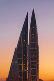 Bahrain, Manama, Bahrain World Trade Center Photographic Print by Jane Sweeney