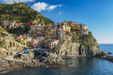 The Colorful Village of Manarola, Cinque Terre, Liguria, Italy Photographic Print by Stefano Politi Markovina