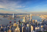 View of Kowloon and Hong Kong Island from Victoria Peak, Hong Kong Photographic Print by Ian Trower