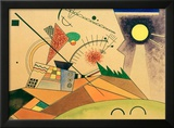 Sketch for Moving Silence, 1923 Framed Giclee Print by Wassily Kandinsky