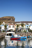 Marina, Puerto De Mogan, Gran Canaria, Canary Islands, Spain Photographic Print by Sabine Lubenow