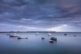Boats on Th Sea, Arrecife, Lanzarote, Canary Islands, Spain Photographic Print by Sabine Lubenow