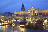 Christmas Market, Krakow, Poland, Europe Photographic Print by Neil Farrin