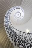 Spiral Staircase, the Queen's House, Greenwich, London, UK Fotografie-Druck von Peter Adams