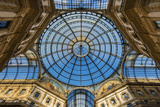 Main Glassy Dome of the Galleria Vittorio Emanuele Ii, Milan, Lombardy, Italy Photographic Print by Stefano Politi Markovina