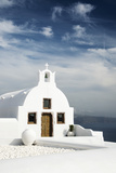 A Church in Oia, Santorini (Thira), Greece Photographic Print by Nadia Isakova