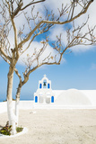 A Church in Oia, Santorini, Greece Photographic Print by Nadia Isakova
