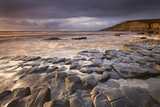 Dunraven Bay on the Glamorgan Heritage Coast, South Wales. Winter Photographic Print by Adam Burton